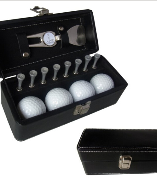 M004 GOLF PACK golf balls and tees