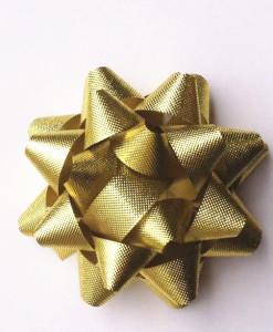Stick On Ribbon (Gold)