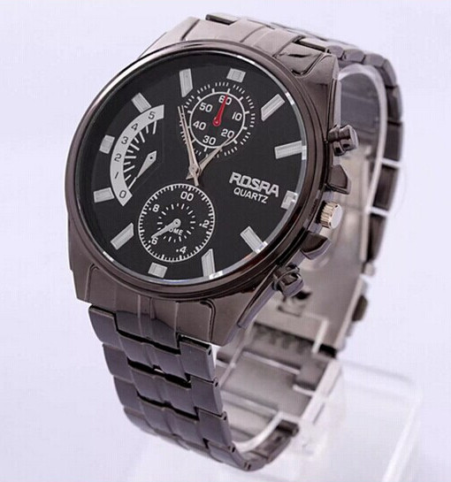 WH1-M005 MEN'S METALLIC WATCH